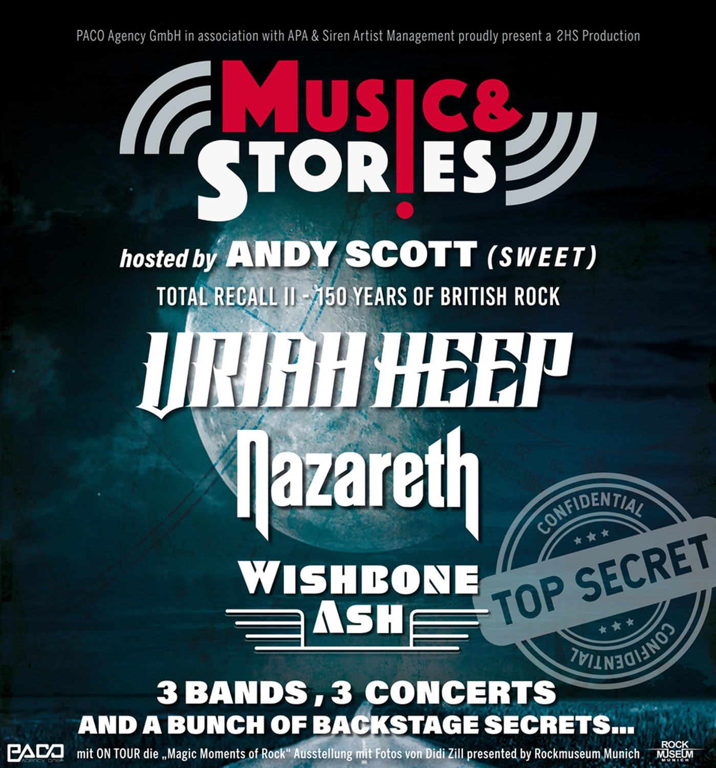 Music & Stories: Uriah Heep - Nazareth - Wishbone Ash